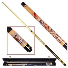 <strong>Trademark Global</strong> Siberian Tiger Billiards Cue with Case