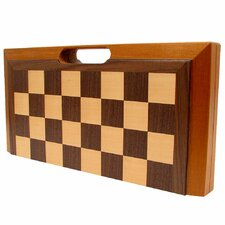 <strong>Trademark Global</strong> Deluxe Wooden Chess, Checker and Backgammon Set
