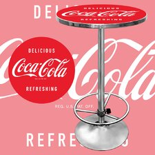 <strong>Trademark Global</strong> Coca Cola Vintage Pub Table
