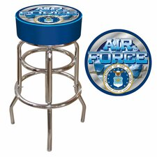 "30"" US Air Force Bar Stool with Cushion"