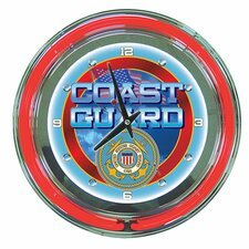 "14"" United States Coast Guard Wall Clock"