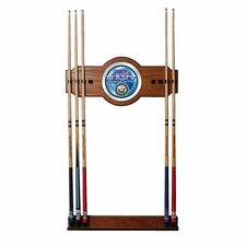 U.S. Navy 2-Piece Wood and Mirror Wall Cue Rack