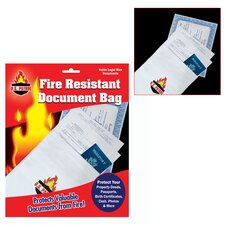 <strong>Trademark Global</strong> Fire Resistant Document Bag