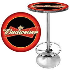 <strong>Trademark Global</strong> Budweiser Pub Table