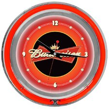 Budweiser Double Ring Neon Wall Clock