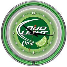 "14"" Bud Light Wall Clock"
