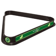 Bud Light Billiard Ball Triangle Rack in Lime