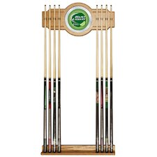 <strong>Trademark Global</strong> Bud Light Billiard Cue Rack in Lime