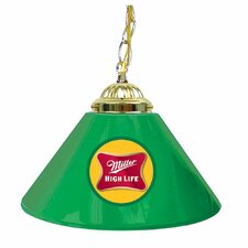 "<strong>Trademark Global</strong> Miller High Life 14"" Single Shade Bar Lamp"