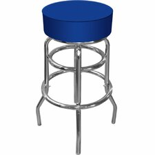 High Grade Padded Bar Stool in Blue