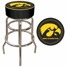 "Iowa State 30"" Bar Stool with Cushion"