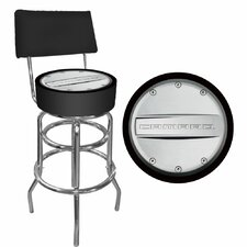 <strong>Trademark Global</strong> Camaro Swivel Bar Stool with Cushion