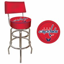 "NHL 7.5"" Swivel Bar Stool with Cushion"
