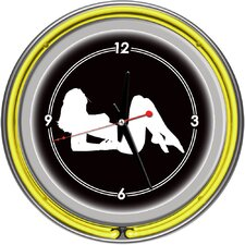 "14.5"" Shadow Babes Series Wall Clock"
