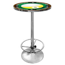 9-Ball Pub Table with Foot Rest