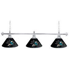 "NHL 60"" Three Shade Billiard Lamp"