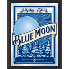 Blue Moon Framed Mirror
