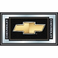 <strong>Trademark Global</strong> Chevy Chevrolet Bow Tie Framed Mirror