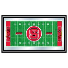 <strong>Trademark Global</strong> NCAA Football Field Framed Mirror