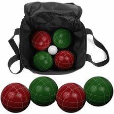 <strong>Trademark Global</strong> 9 Piece Bocce Ball Game Set with Nylon Bag