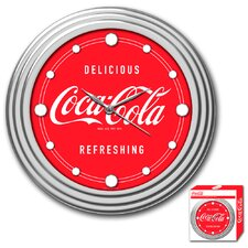 "Coca Cola 11.75"" Coca-Cola Wall Clock"