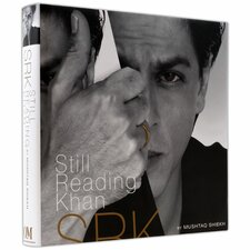 Still Reading Shahrukh Khan Book by Mushtaq Shiekh