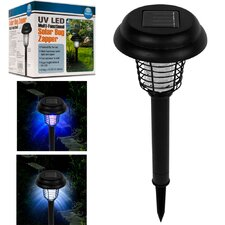 LED and UV Solar Bug Zapper