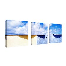 "Spain by Preston, Canvas Art - 18"" x 18"" (Set of 3)"