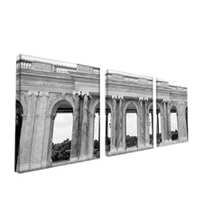 "Palace de Versailles by Preston, Canvas Art - 14"" x 14"" (Set of 3)"