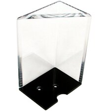 8 Deck Professional Grade Acrylic Discard Holder with Top