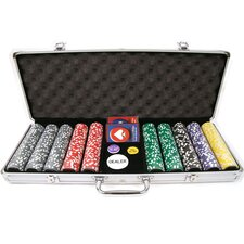 Clay Laser Las Vegas Chip Set with  Aluminum Case