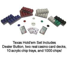 Suited Poker Chips Texas Hold Em Set