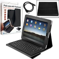 Laptop Buddy iPad Bluetooth Keyboard and Protective Case