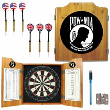 Pow Dart Cabinet in Medium Wood