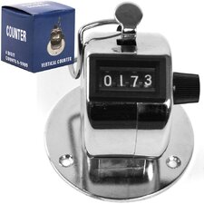 Tally Counter Clicker - Handheld or Base Mount