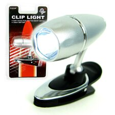 LCD Clip-On Light Flashlight (Set of 4)