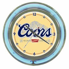 "<strong>Trademark Global</strong> 14"" Coors Neon Wall Clock"