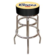 "<strong>Trademark Global</strong> 30"" Coors Banquet Bar Stool with Cushion"