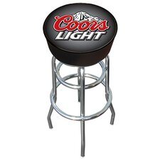 "30"" Coors Light Bar Stool with Cushion"