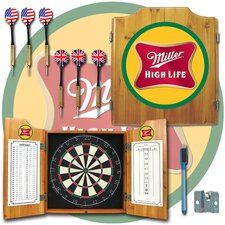 <strong>Trademark Global</strong> Miller High Lite Cabinet with Darts