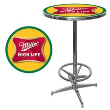 <strong>Trademark Global</strong> Miller High Life Pub Table