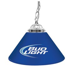 "Bud Light 14"" Single Shade Bar Lamp"