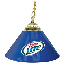 "Miller Lite 14"" Single Shade Bar Lamp"