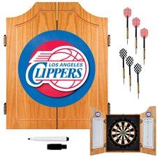 NBA Wood Dart Cabinet Set