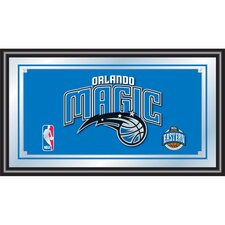 <strong>Trademark Global</strong> NBA Framed Logo Mirror