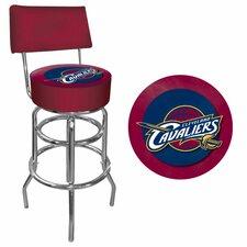 NBA Swivel Bar Stool with Cushion