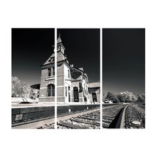 Excursions by Cat Eyes 3 Piece Photographic Print on Canvas Set