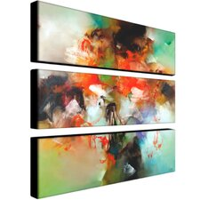 <strong>Trademark Global</strong> Abstract by Zavaleta Canvas Art (Set of 3)