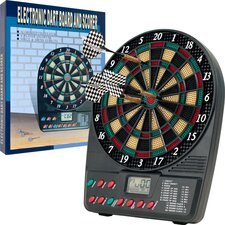 TGT Electronic Mini Dart Set with Auto Scorekeeper