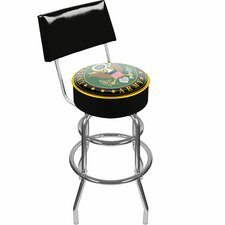 <strong>Trademark Global</strong> U.S. Army Symbol Padded Swivel Bar Stool with Cushion